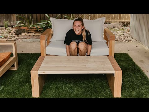 DIY Outdoor Coffee Table | Woodbrew