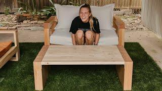 DIY Outdoor Coffee Table | Woodbrew