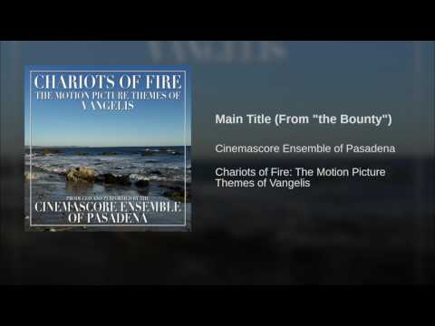 """Main Title (From """"the Bounty"""")"""