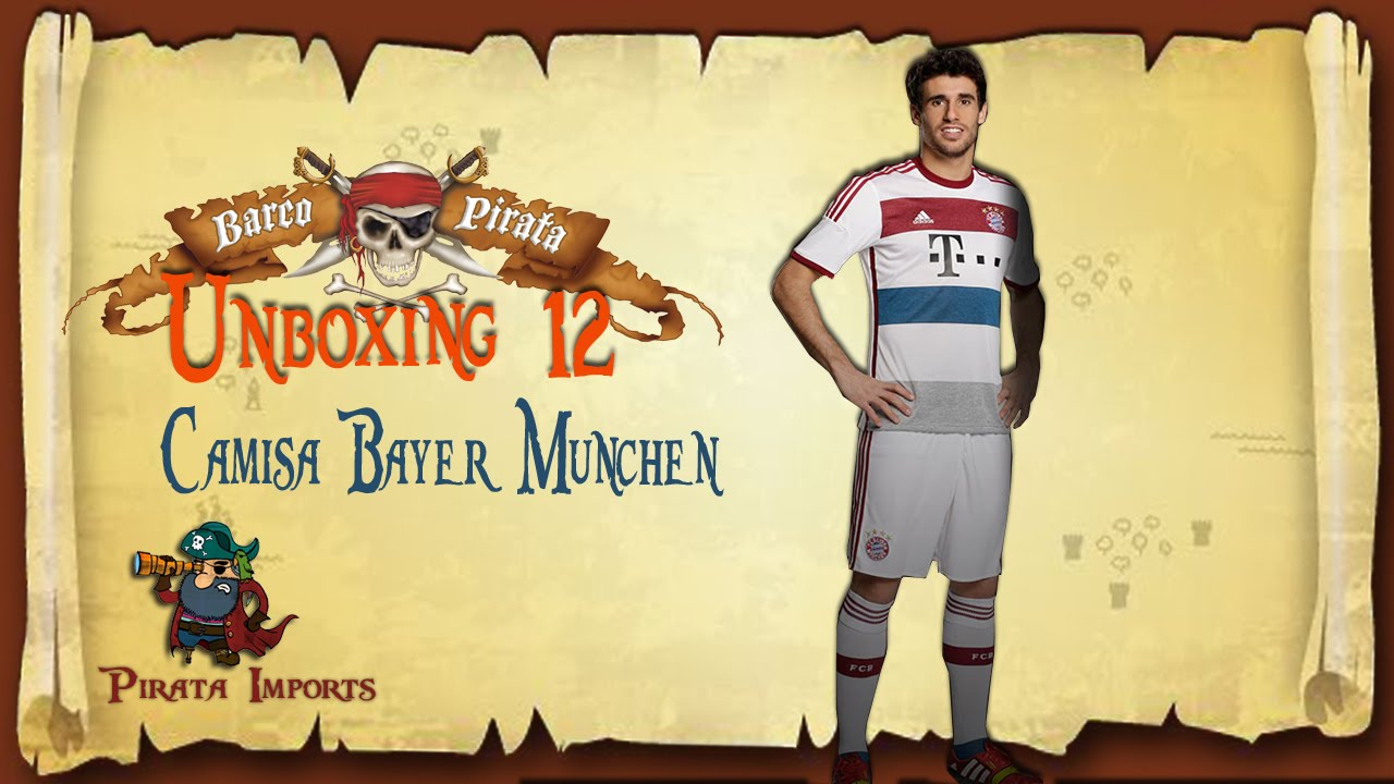 Unboxing 12 - Camisa Bayern Munchen -   China - YouTube 6f24ceeed3c6e