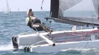 Italian Chanpionship Cat Class A Sailing Race Regatta in Punta Ala