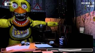 Five Nights at Freddy s 2 5 Ночей с Фредди Попытки пройти 3 ночь