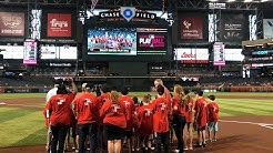 Glendale Kids Play Ball at Chase Field