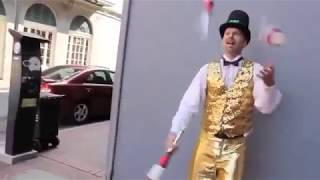 Vaudevillian Juggler Demonstration!