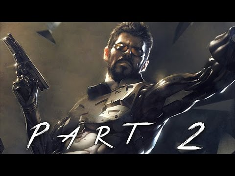 Deus Ex Mankind Divided Walkthrough Gameplay Part 2 - Augmentations (PS4)