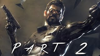 Deus Ex Mankind Divided Walkthrough Gameplay Part 2 includes a Review and Mission 2 from the Full Game for PS4 Xbox One and PC This Deus Ex