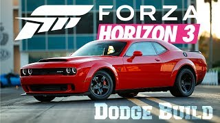 Dodge Demon 1000HP Forza Horizon 3 Build
