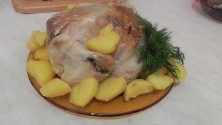#Курица в рукаве. Простой и быстрый #Рецепт!