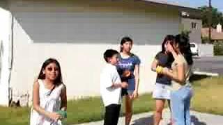 mini olympics water balloon game