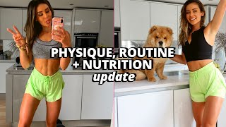 100K SUBS!! Physique, Routine, Fitness + GYMSHARK *UPDATE*