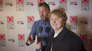We caught up with Lewis Capaldi backstage at the Q Awards to talk about how he felt winning the Q best track award for Someone You Loved and how he plans ...