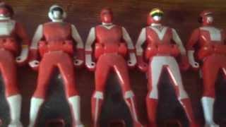 Gaoranger vs super sentai red ranger roll call