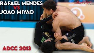 Rafael Mendes Vs Joao Miyao: ADCC 2013 (66kg Semi Final)