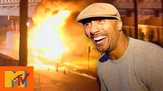 Dwayne 'The Rock' Johnson's On Set Explosion | Punk'd