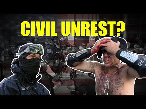 Immigration Uprising Civil Unrest Looming!