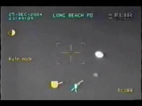 Un OVNI filmé par la police américaine