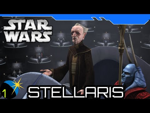 Stellaris - Star Wars Mod - The Galactic Republic - Welcome Senators! - Ep 1- 4x RTS