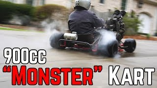 DUCATI 900CC DEATH MACHINE | 70+ HP Shifter Kart