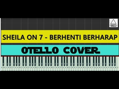 Sheila On 7 - Berhenti Berharap Piano Easy Tutorial + Lyrics (cc)  by Otello Piano
