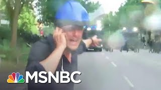 This Is Staying Cool When Things Get Heated   Keir Simmons   MSNBC