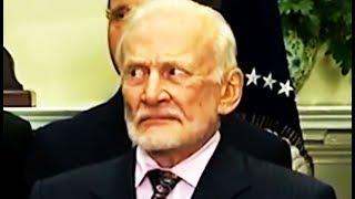 Buzz Aldrin IS NOT HAVING Trump's Nonsense Speech About Space