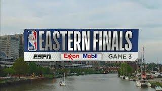 2018 NBA Playoffs ECF Celtics VS Cavaliers Game 3 ESPN Intro