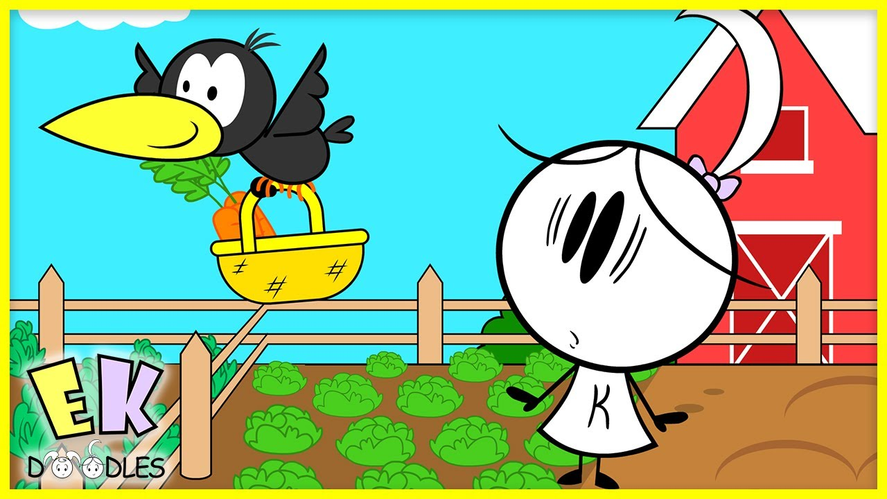 Learn How to Grow Healthy Food for Kids! EK Doodles Gardening Tips