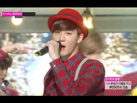[HOT] EXO - Christmas Day, 엑소 - 크리스마스데이, Show Music Core 20131221