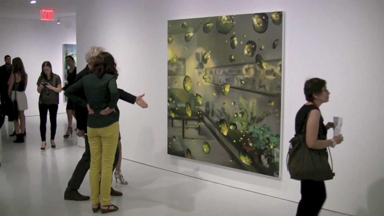 karin kneffel gagosian gallery new york 2012 - YouTube