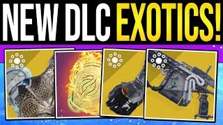 One of xHOUNDISHx's most viewed videos: Destiny 2 | ALL NEW DLC EXOTICS & REWARDS! Exotic Weapons, Prime Armor Unlocks & Gjallarhorn Item!