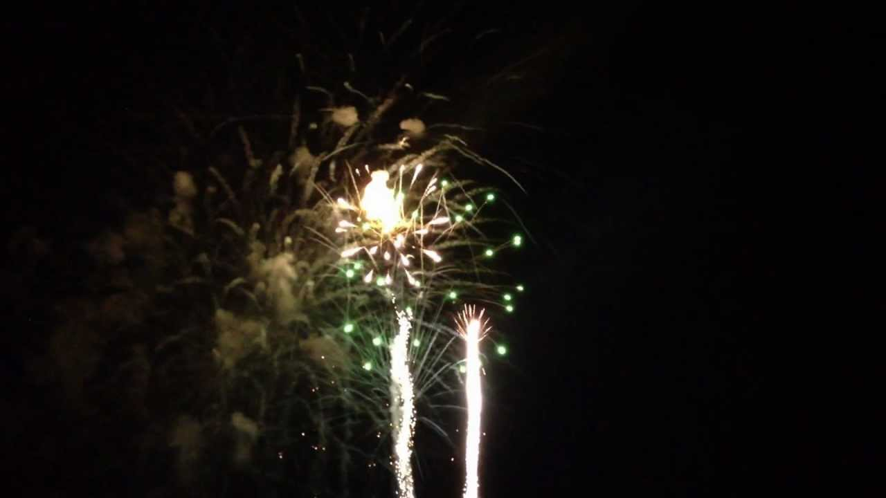 New Years Eve Fireworks St. Augustine, FL - YouTube