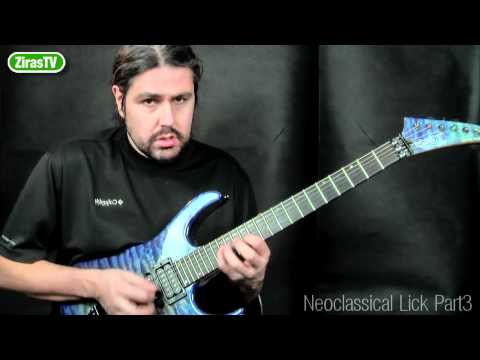 Neoclassical Lick Part 3 (Harmonic Minor)   Lick Of The Week 103