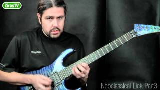 Neoclassical Lick Part 3 (Harmonic Minor) | Lick of the Week 103