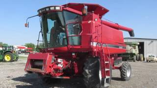 2002 case ih 2366 axial flow combine 6 14 17 sale big iron