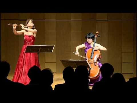 Mozart:Die Zauberflöte オペラ「魔笛」より 恋人か女房か/上野由恵(フルート)&遠藤真理(チェロ)