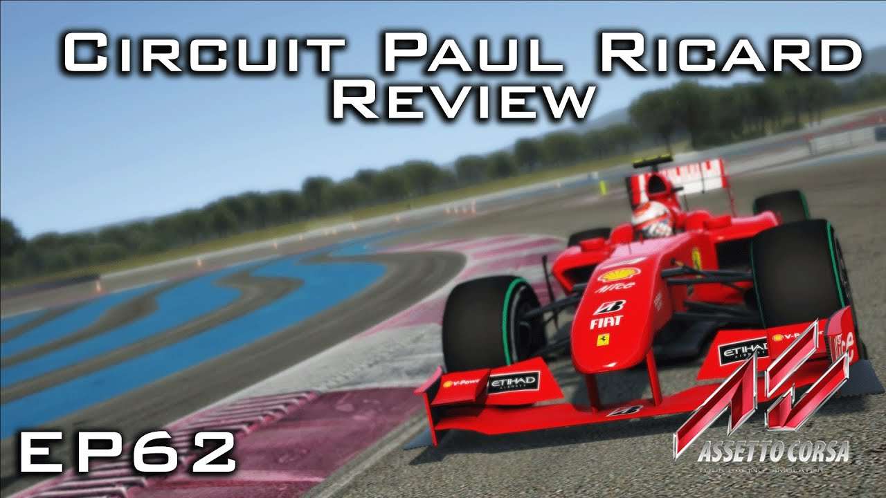assetto corsa circuit paul ricard review episode 62 youtube. Black Bedroom Furniture Sets. Home Design Ideas