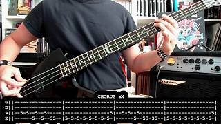 JUDAS PRIEST - Heavy duty - Defenders of the faith (bass cover w/ Tabs)