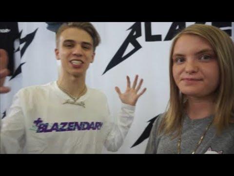 I MET BLAZENDARY ( Sneaker Con 2k18 Dallas)