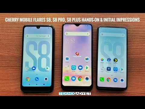 Cherry Mobile Flare S8, Flare S8 Pro, Flare S8 Plus Hands-on And Initial Impressions