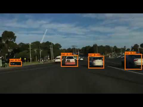 Self Driving Car Vehicle / Traffic Lights / pedestrian detection with YOLO