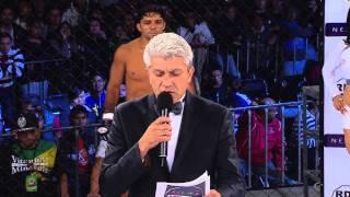 """Alexandre """"Pequeño"""" Nogueira VS Antonio Barajas (Guillotine ends)"""
