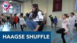 Basisschoolkinderen leren de 'Haagse Shuffle' om fit te blijven
