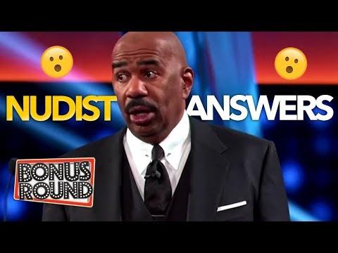 NUDIST!! Steve Harvey