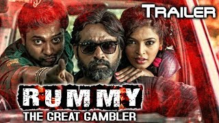 Rummy The Great Gambler (Soodhu Kavvuum) 2019 Official Trailer 2 | Vijay Sethupathi, Sanchita Shetty