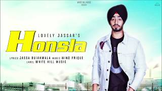 Honsla (Motion Poster) Lovely Jassar | Rel. On 19th October | White Hill Music