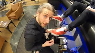 ASMR   GIVENCHY   RED SHOES   SHOE CARE   SUEDE CLEANING