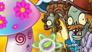 Plants vs Zombies 2 Lost City Hypno Shroom Boost Party