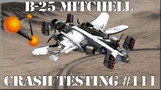 BeamNG Drive B-25 Mitchell WWII Bomber Crash Testing #111