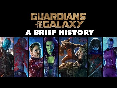 GUARDIANS OF THE GALAXY: A Brief History - The Know Movie News