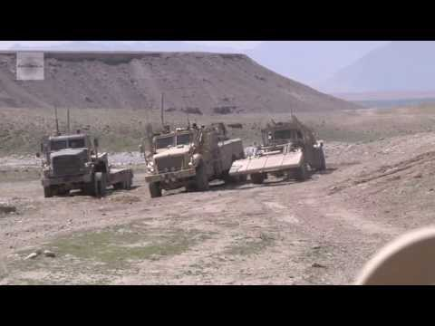 Engineer from Arkansas National Guard – Route Clearance Missions in Afghanistan